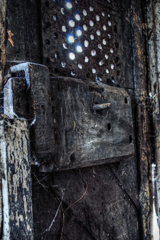 The Gaol Back Door Lock