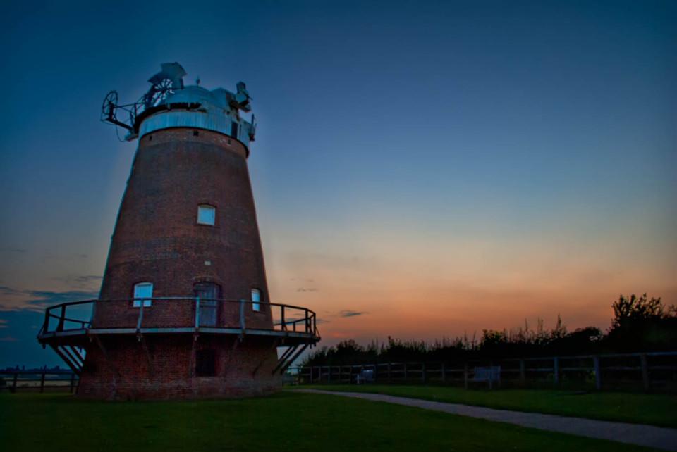 John Webb's Windmill Thaxted Sunset