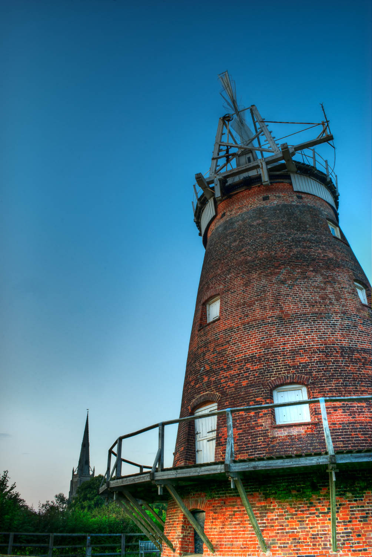 John Webb's Windmill and Thaxted Church