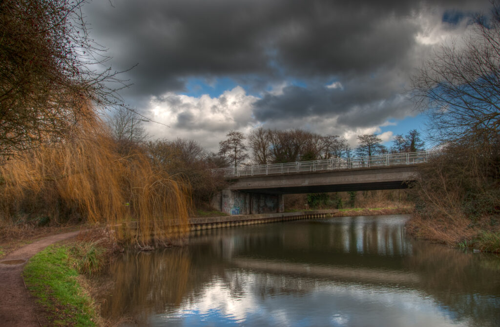 The River Stort at Burnt Mill