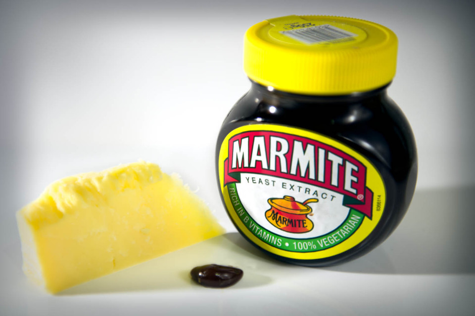 Cheese and Marmite