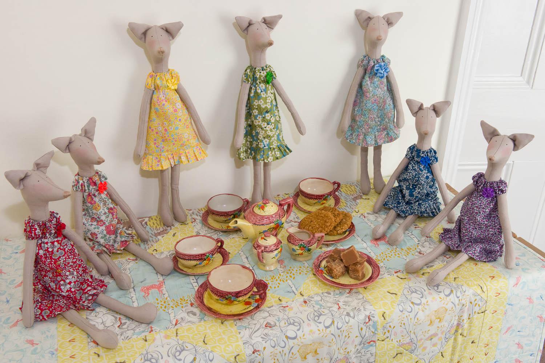 Foxes Tea Party