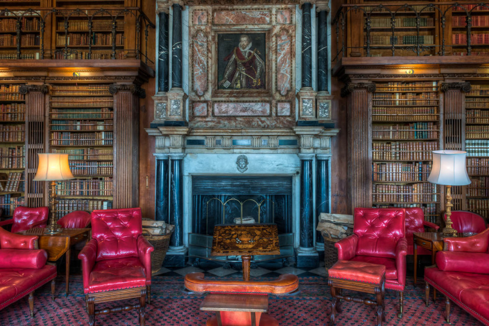 The Library Hatfield House