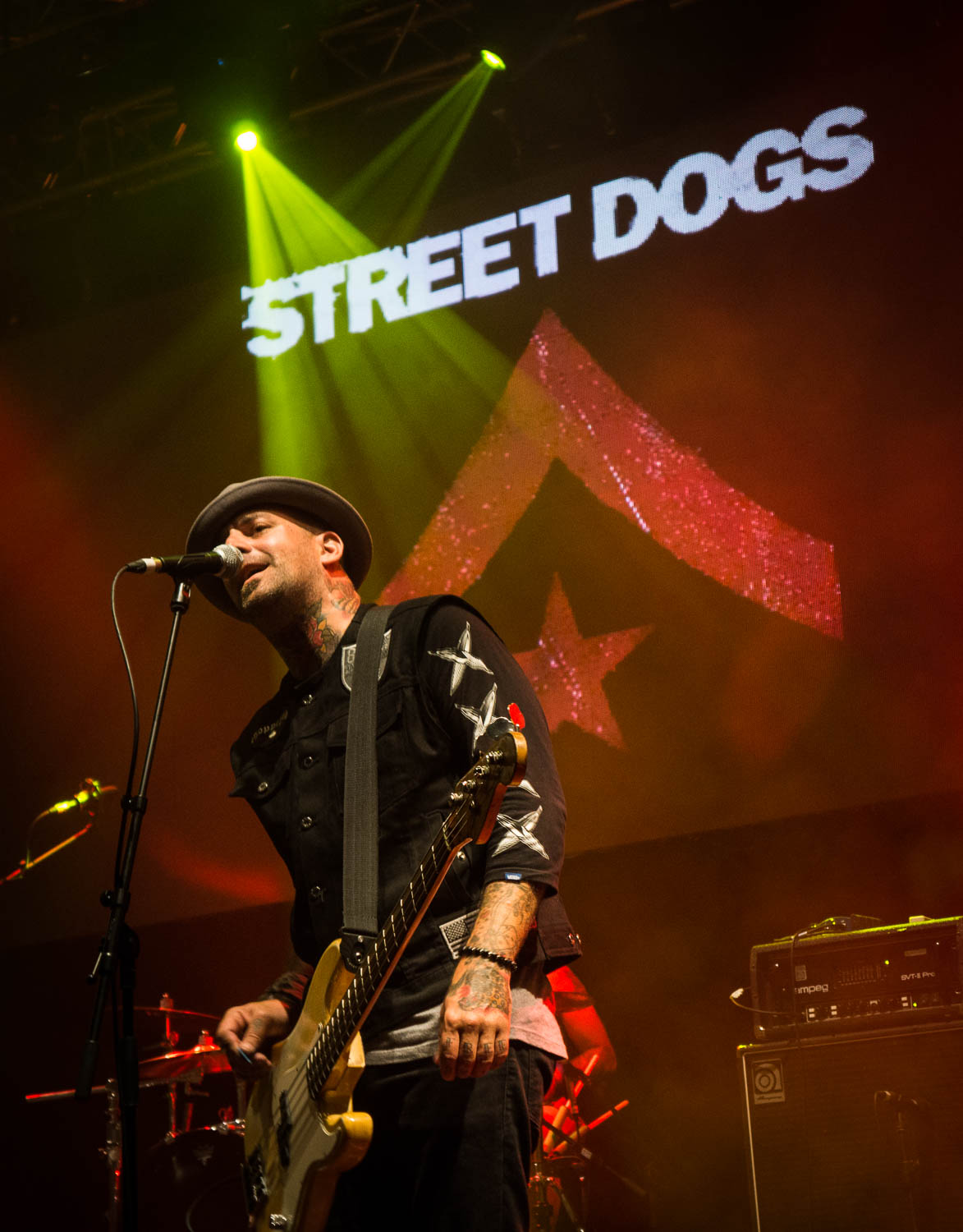 Johnny Rioux of The Street Dogs