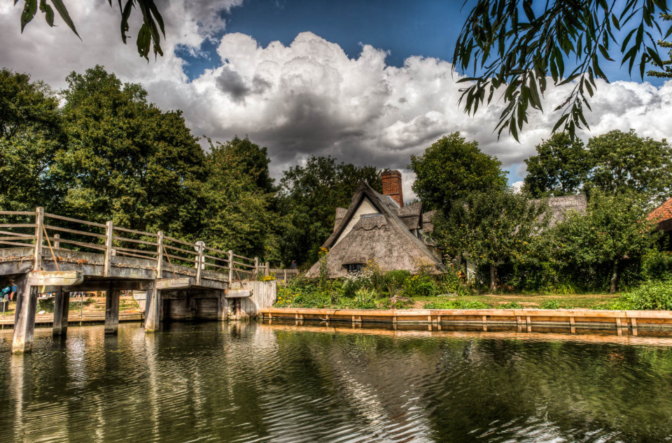 The River Stour at Flatford Mill