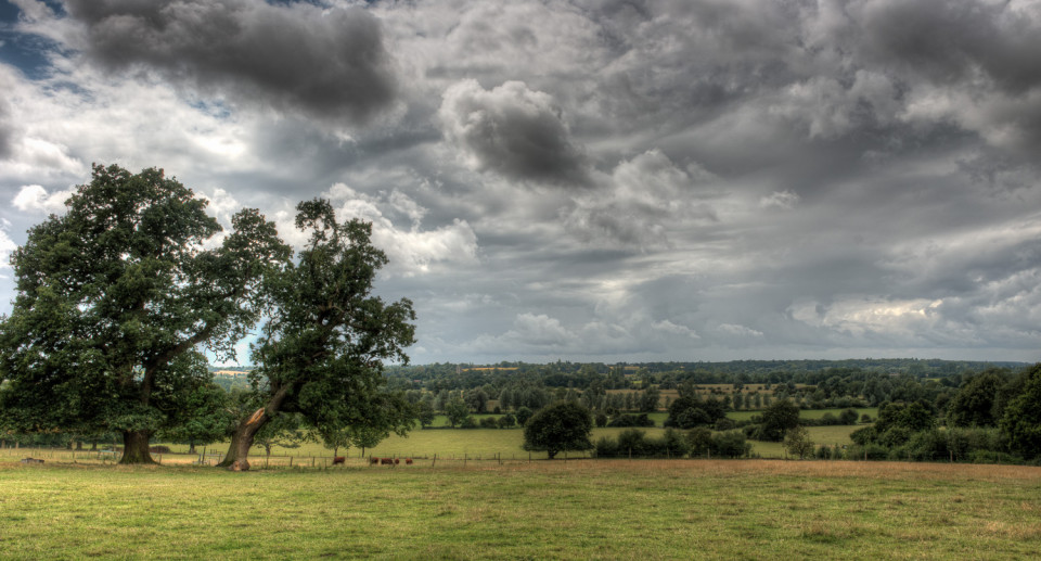 The Storm Clouds Gather Over Flatford