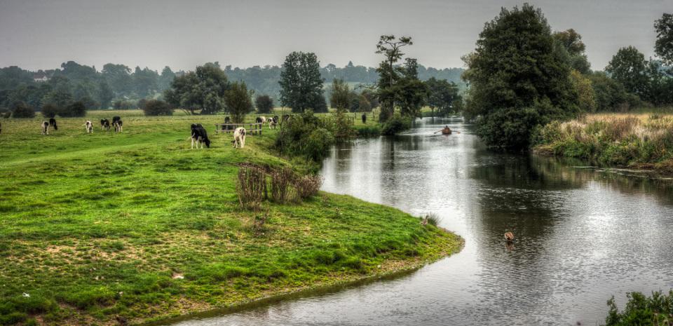The River Stour, Dedham