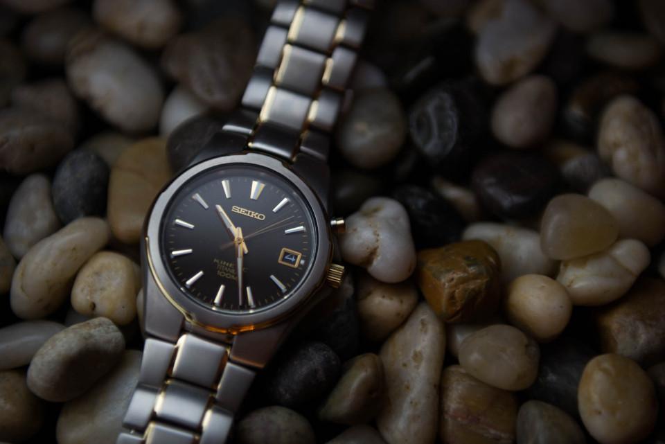 My Seiko Kinetic Watch
