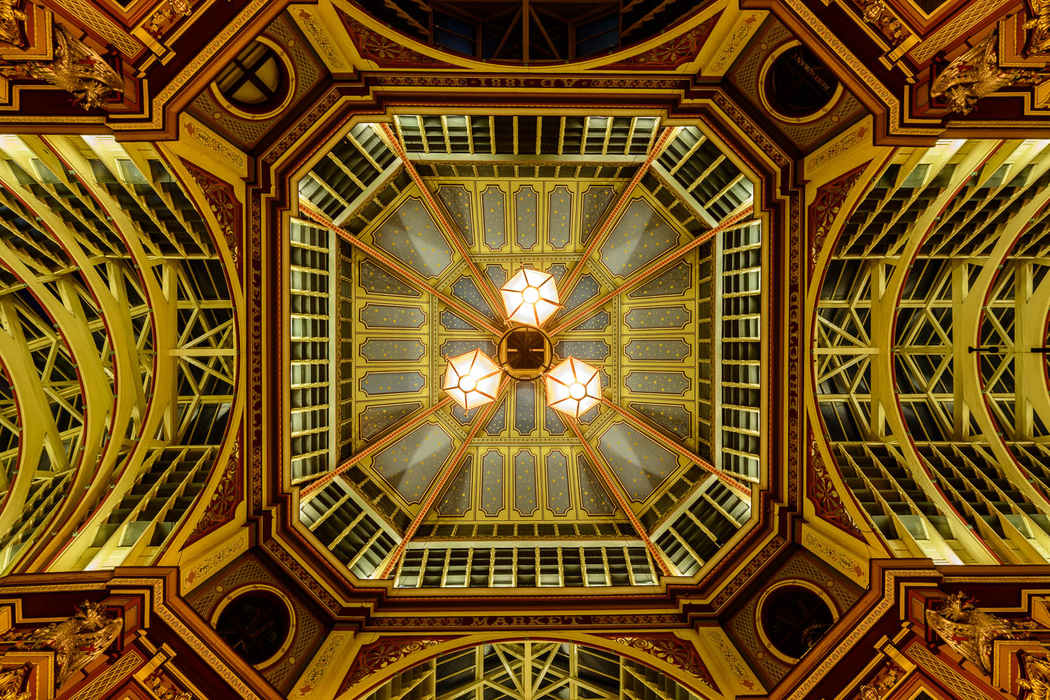 Leadenhall Market Ceiling, City of London