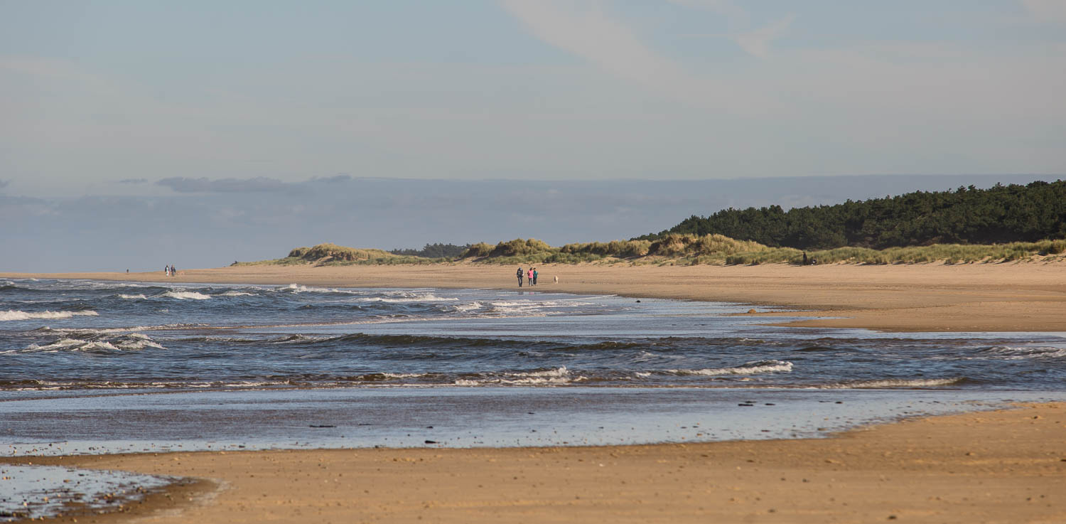 Holkham Beach, Wells-next-the-Sea, Norfolk, Walkers