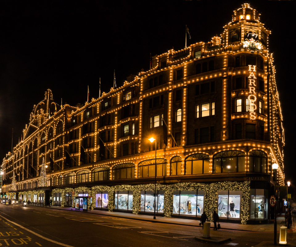 Harrods at Christmas