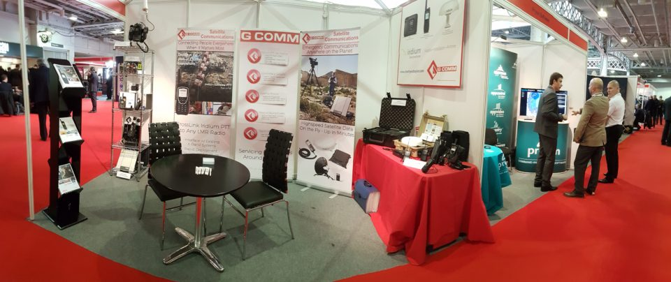 G-Comm at the UK Security Expo
