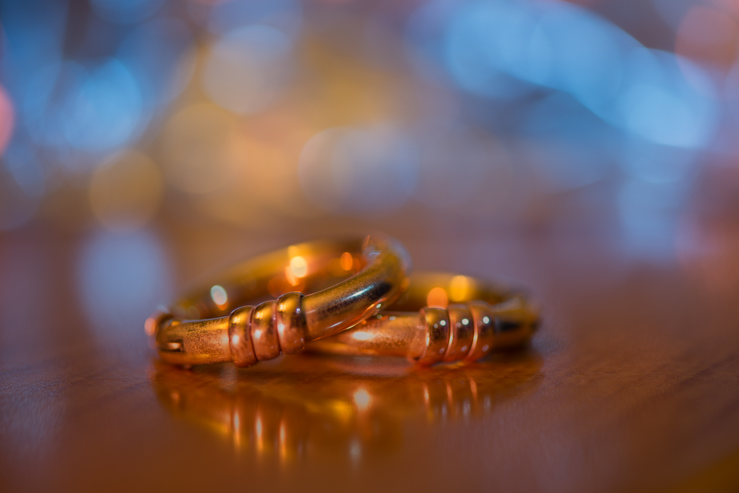 Golden Ringed Bokeh