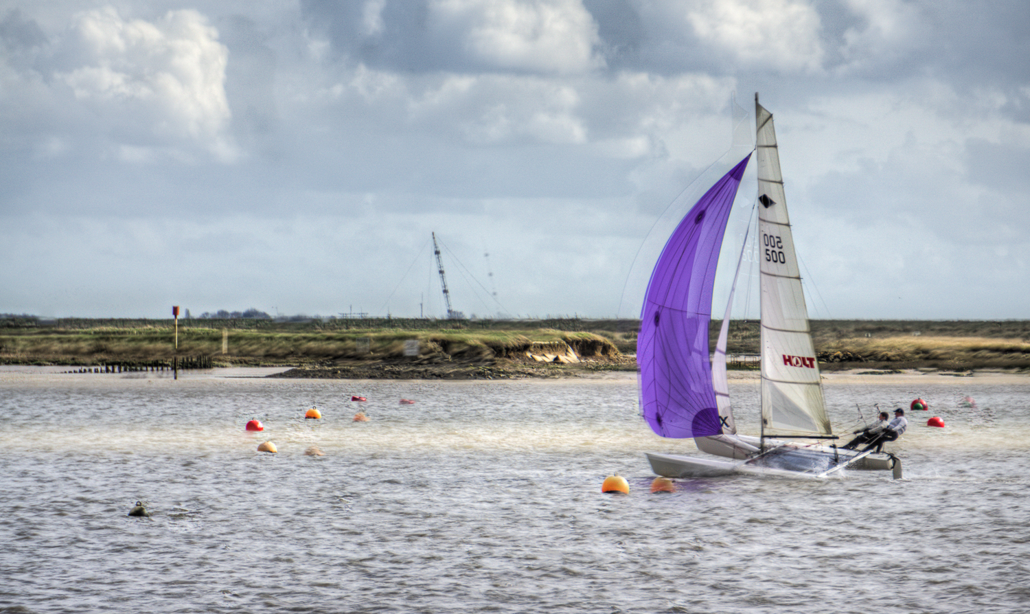 Burnham on Crouch - big yacht racing