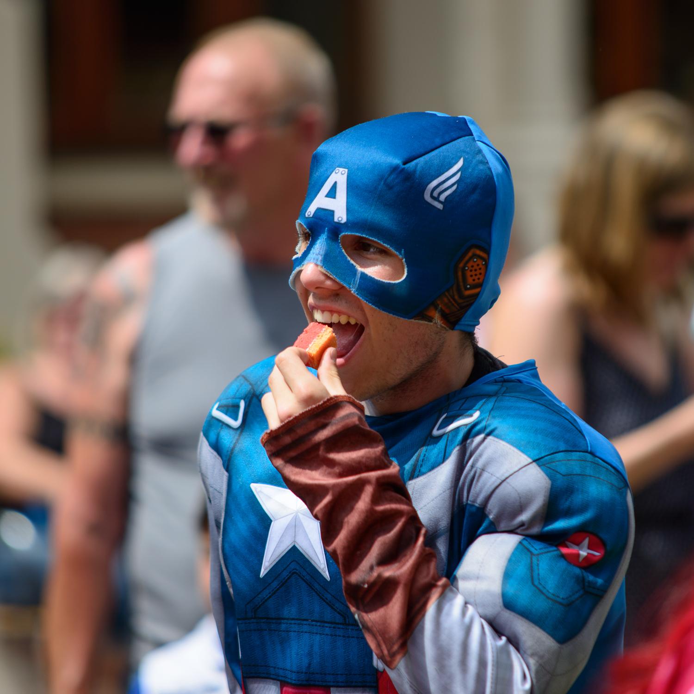 Captain America needs some refreshment