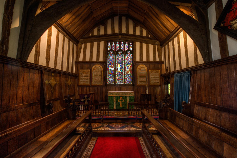 All Saints Church Altar, Crowfield, Suffolk