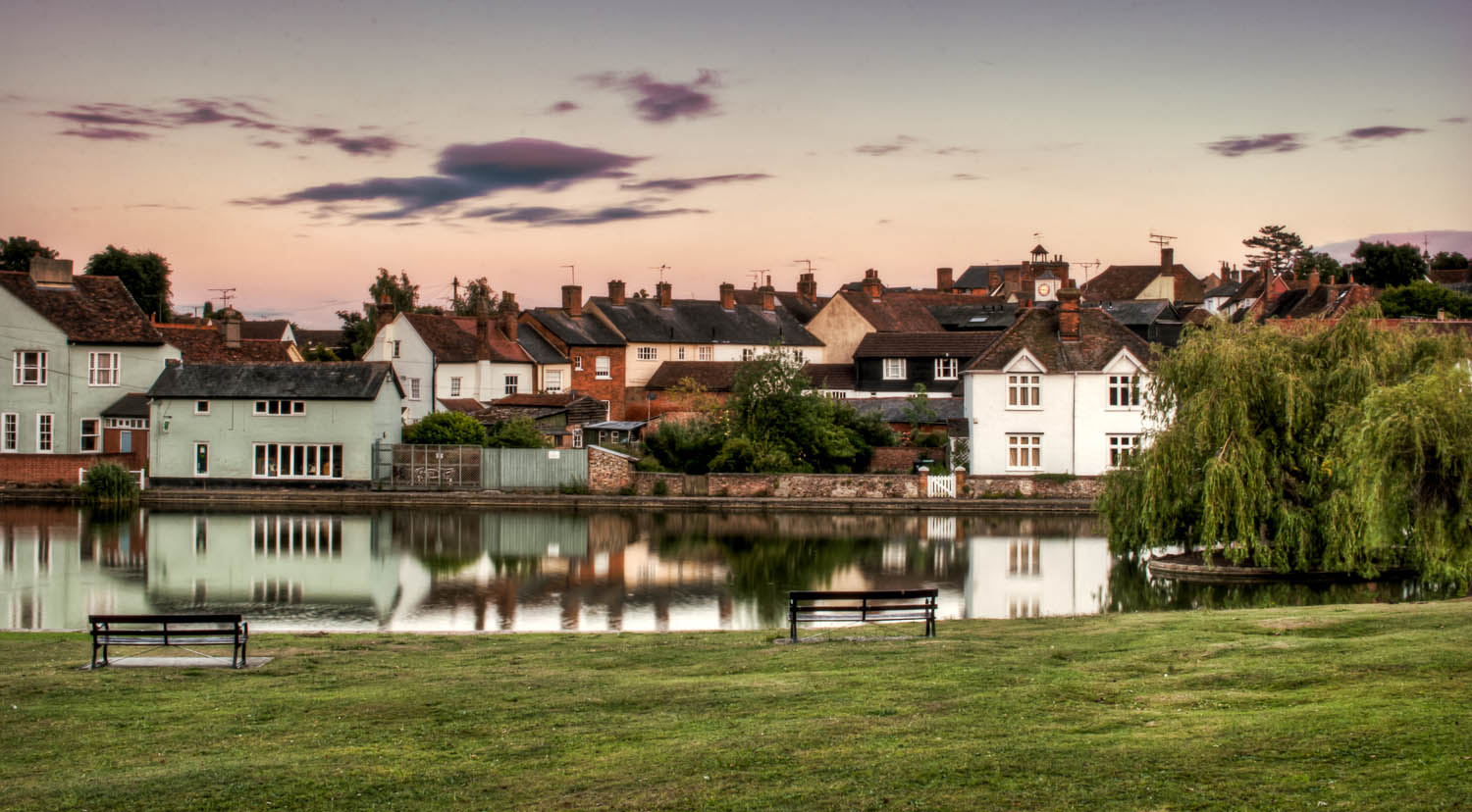 Dunmow from Doctors Pond