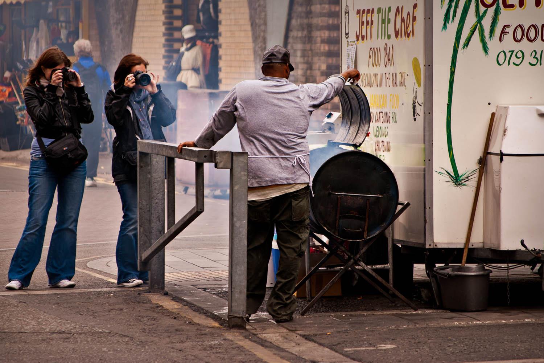 Street Food in Brixton on the London Photowalk
