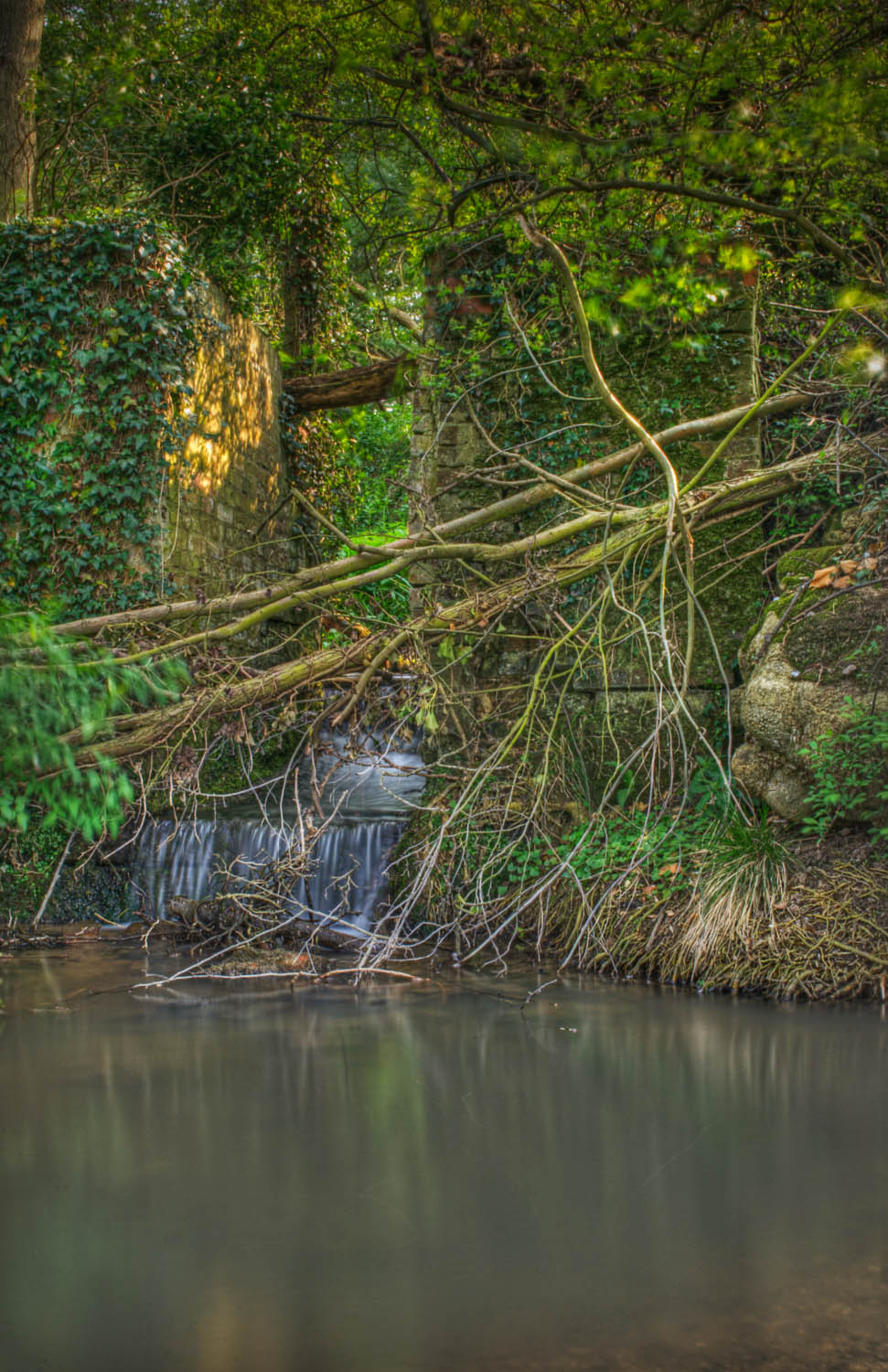 The Old Mill Stream Waterfall 2