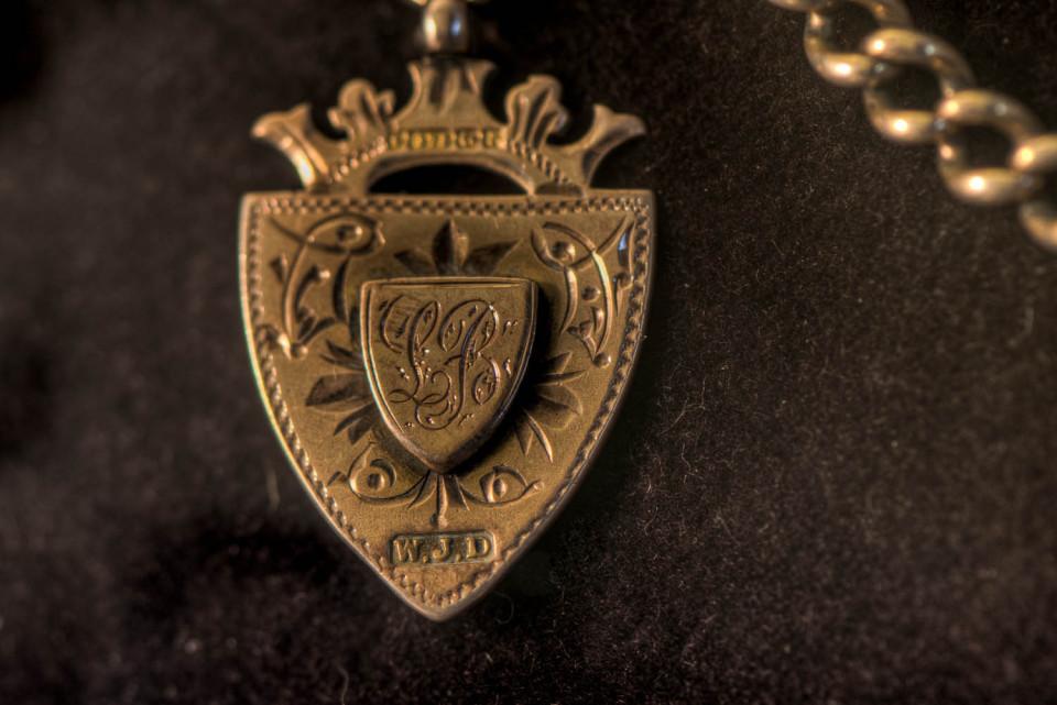 Grandfathers Pocket Watch detail