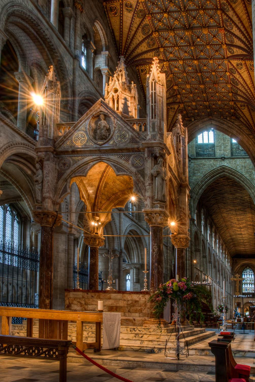 Peterborough Cathedral - Main Altar