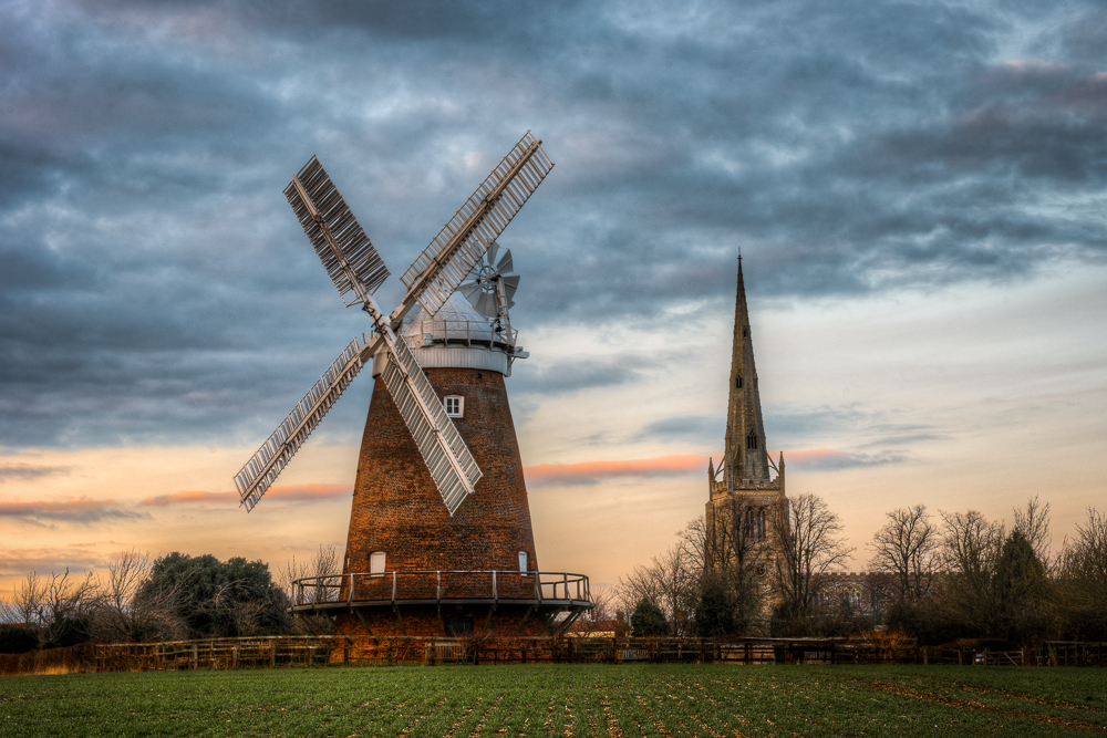 Thaxted Windmill and Church