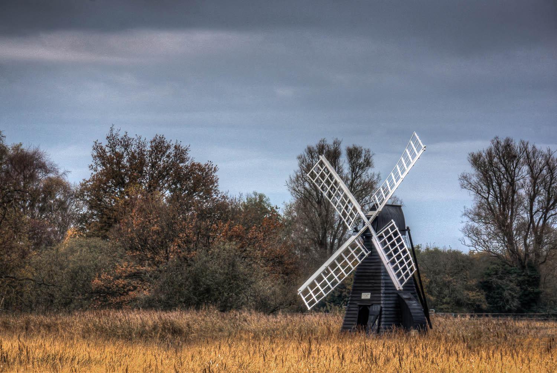 Normans Mill, Wicken Fen, Cambridgeshire