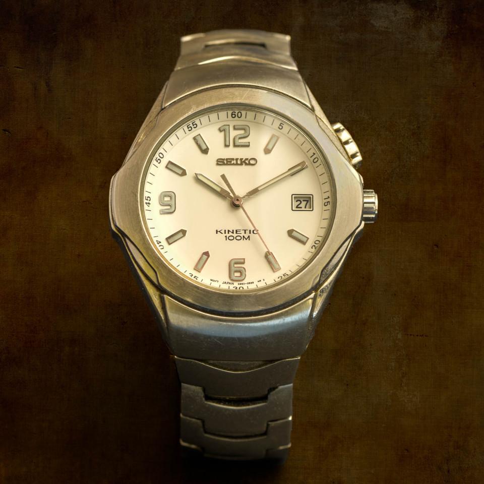 My 12 year old Seiko Kinetic watch