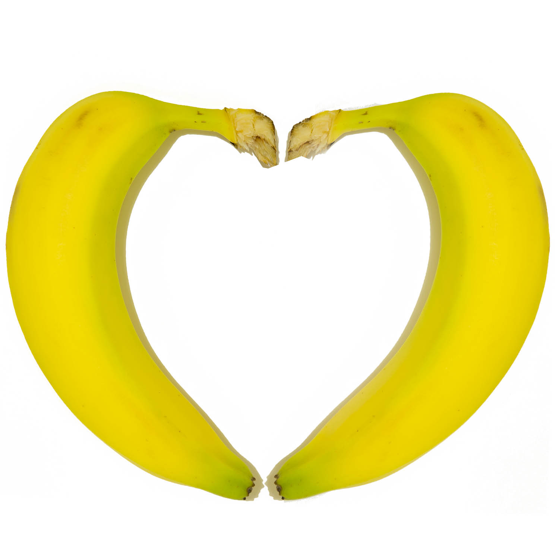 Valentines Bananas