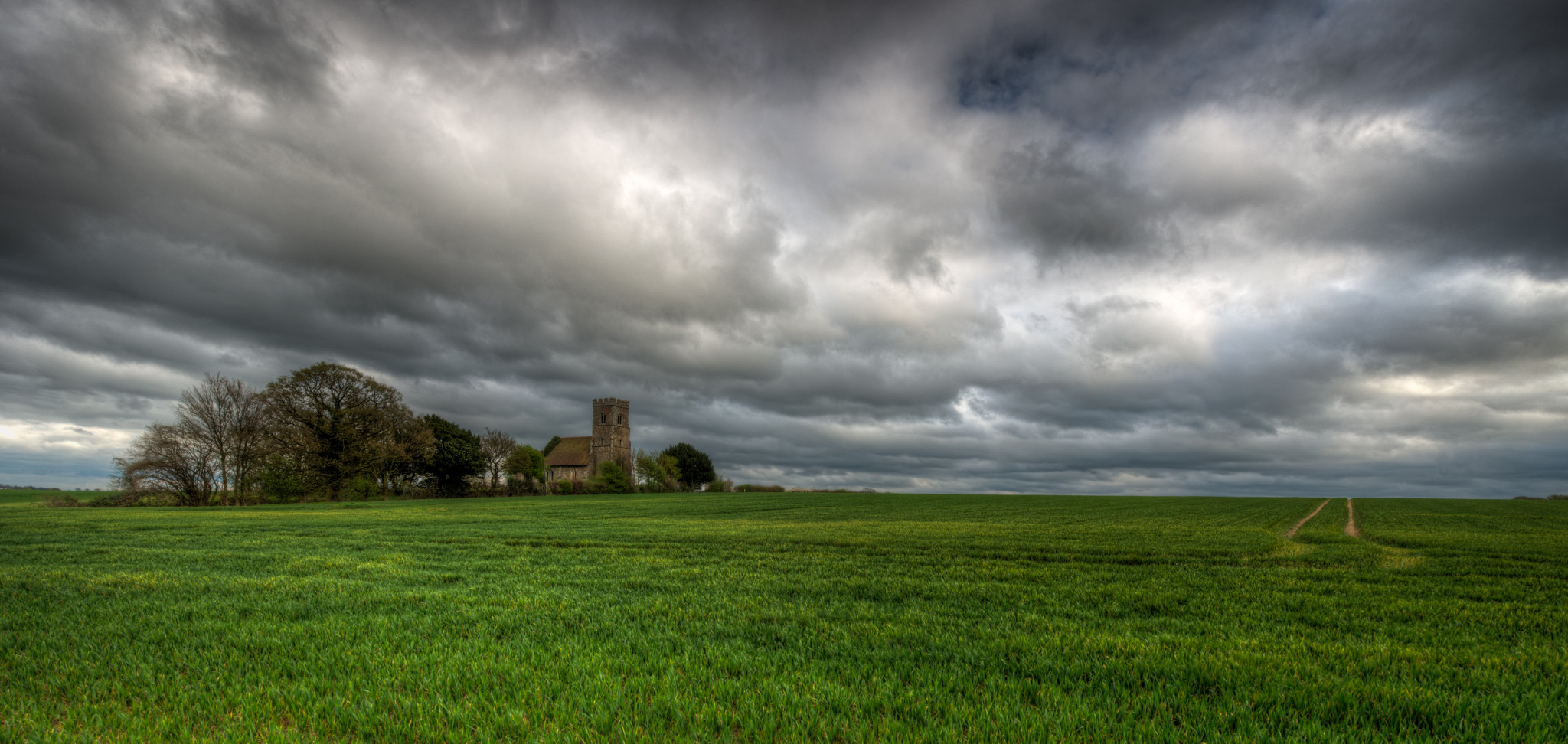 St Boltolphs Church and surrounding Landscape