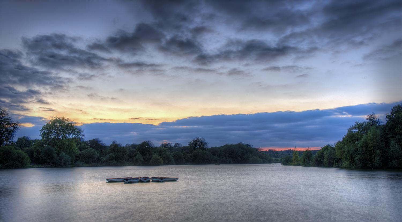 A Blowy Hatfield Forest Lake