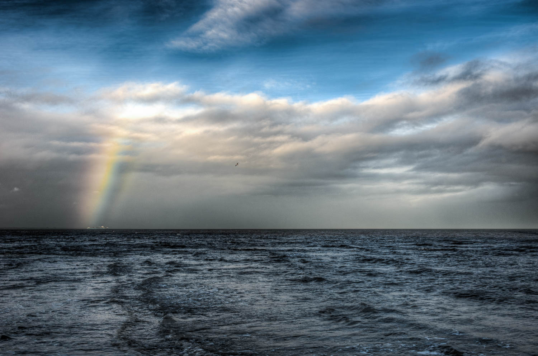Rainbow Over Maersk