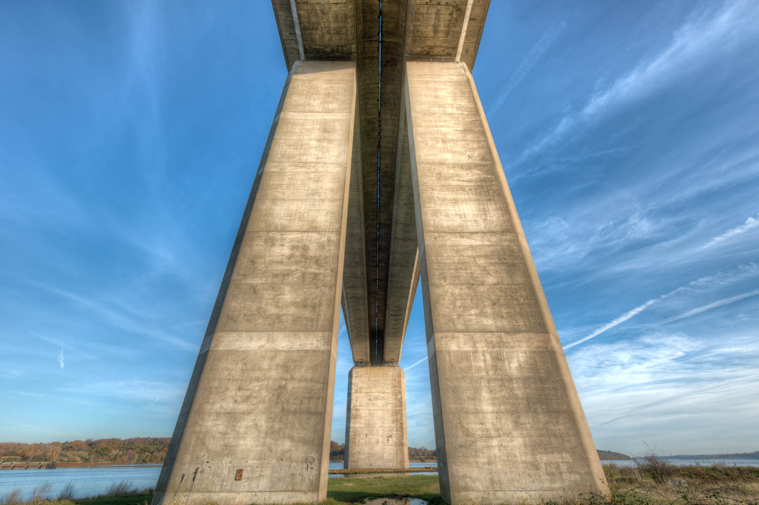The Orwell Bridge Standing Tall