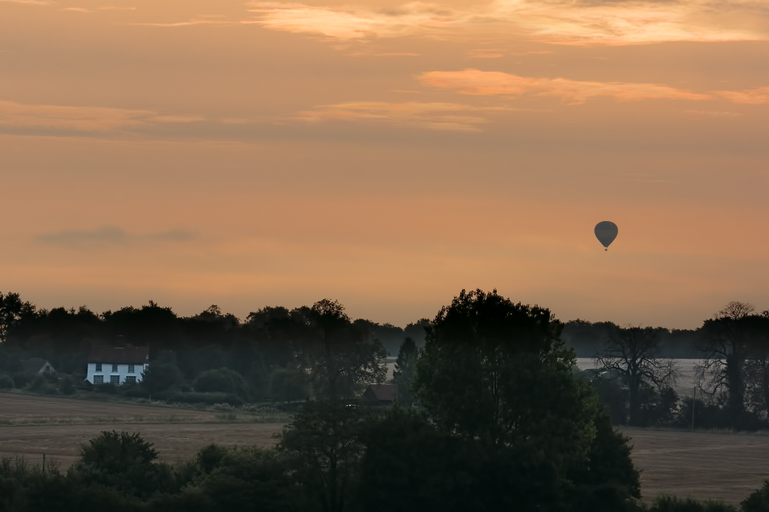 Ballooning Over Dunmow