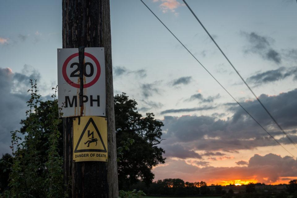 Danger of Death at Sunset