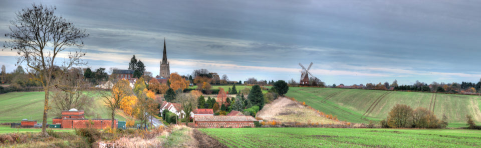 Panorama of the Town of Thaxted