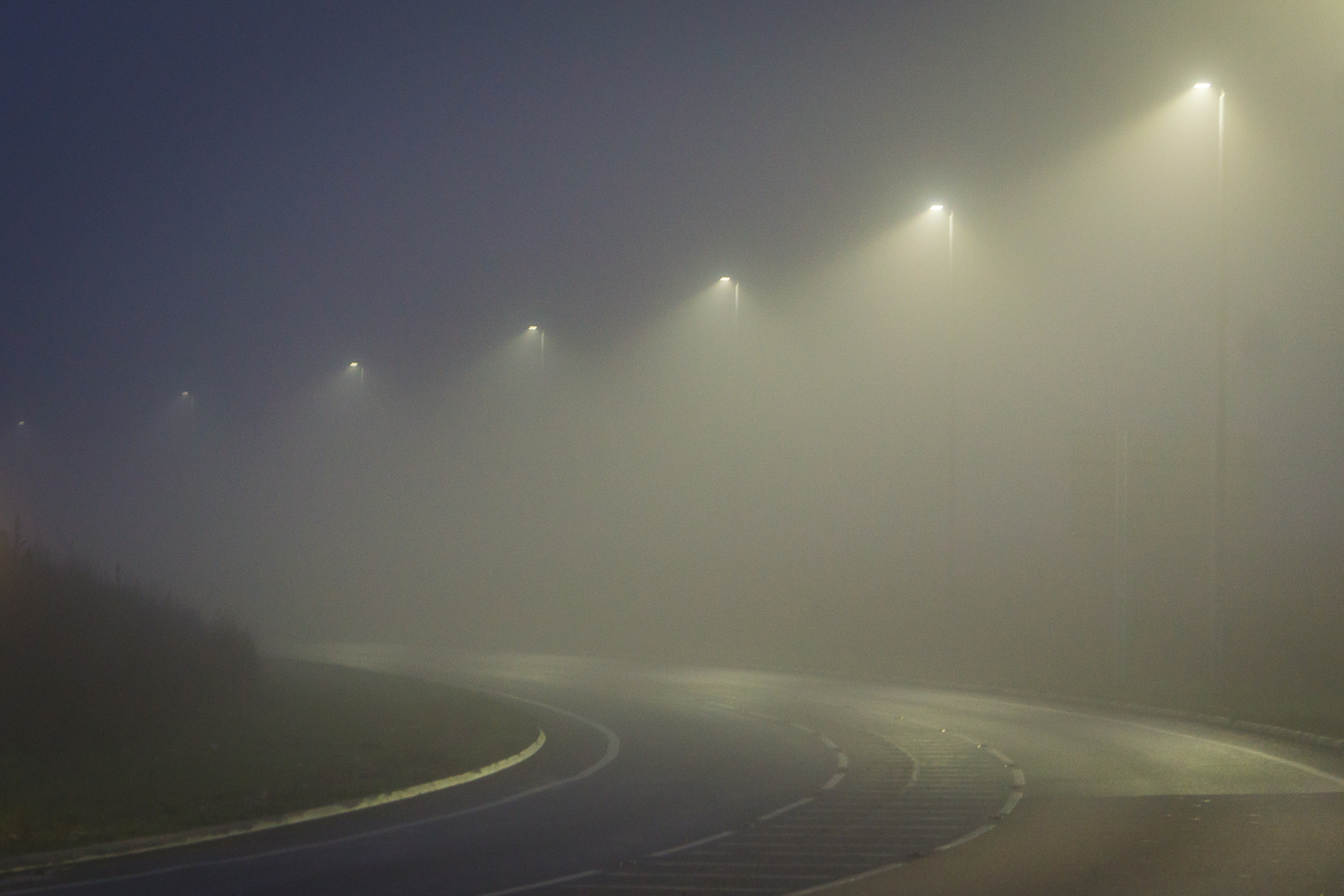 Curves In The Fog