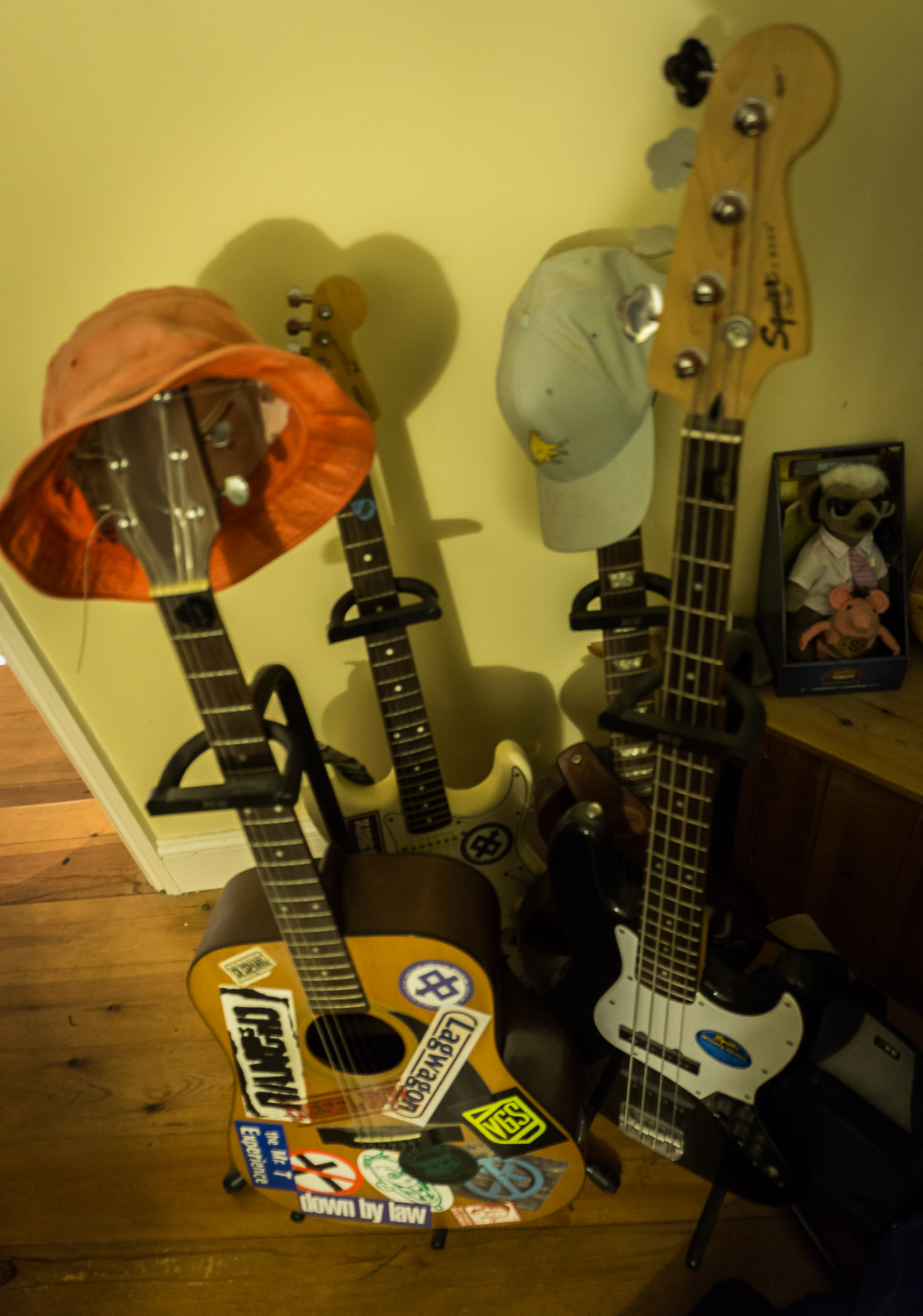 Guitars With Hats