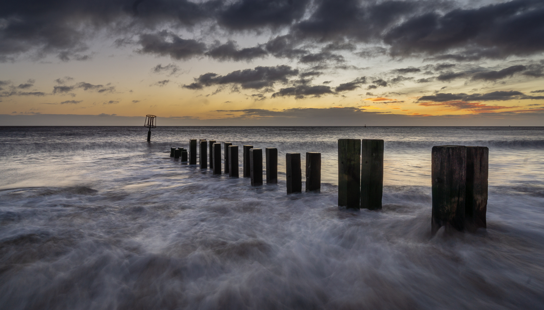 Sunrise on Gorleston Beach, Norfolk